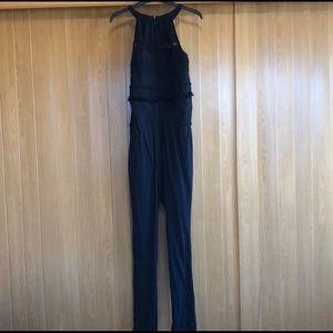 Ann Taylor LOFT Black Jumpsuit - Size XSP